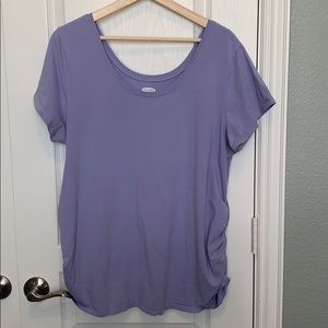 Maternity Old Navy Fitted Lavender- XXL